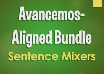 Avancemos 3 Bundle: Sentence Mixers