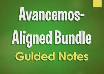 Avancemos 3 Bundle: Unit Notes