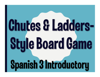 Avancemos 3 Lección Preliminar Chutes and Ladders-Style Game