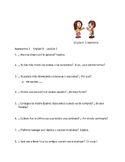 Avancemos 3 Unit 1 through Unit 3 Lesson 2 100 questions