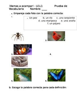 Avancemos 3 U1L1 Vocabulary Quiz 1