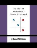 Avancemos 3 Unidad 1 Lección 1 - Tic Tac Toe