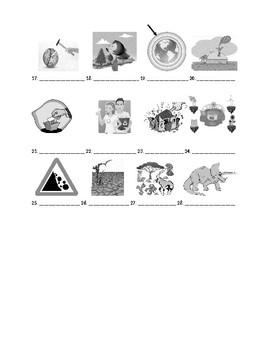 Avancemos 3 Chapter 3 Vocabulary 1 Identification Practice/Quiz