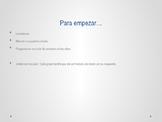Avancemos 3 - Unidad 3 Lección 1 Vocabulary PowerPoint with Brackets