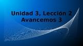 Avancemos 3 - Unidad 3, Leccion 2