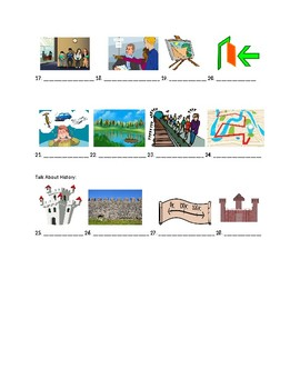 Avancemos 3 Unidad 6.2 Vocabulary Identification Practice