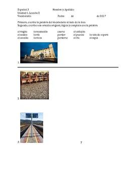 Avancemos 3 - Unidad 6 Lección 2 Vocab Practice