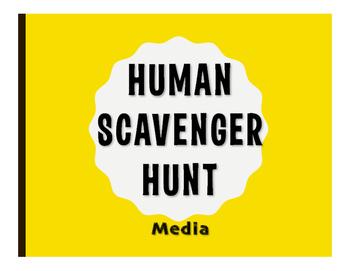 Avancemos 3 Unit 2 Lesson 2 Human Scavenger Hunt