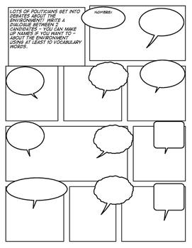 Avancemos 3 Unit 3 Lesson 1 Comic Strip