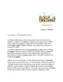 Spanish 3  Biography and Song   ( Nicaragua) Future tense