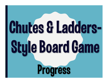 Avancemos 3 Unit 3 Lesson 2 Chutes and Ladders-Style Game