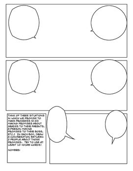 Avancemos 3 Unit 3 Lesson 2 Comic Strip