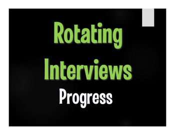 Avancemos 3 Unit 3 Lesson 2 Rotating Interviews