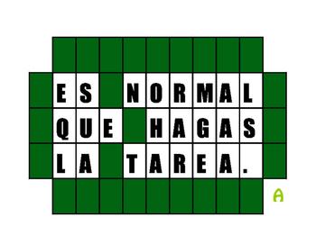 Avancemos 3 Unit 3 Lesson 2 Wheel of Spanish