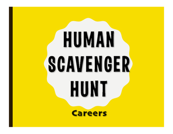 Avancemos 3 Unit 4 Lesson 1 Human Scavenger Hunt