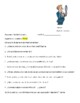 Avancemos 3 Unit 4 Lesson 1 Packet with 3  vocabulary & subjunctive exercises