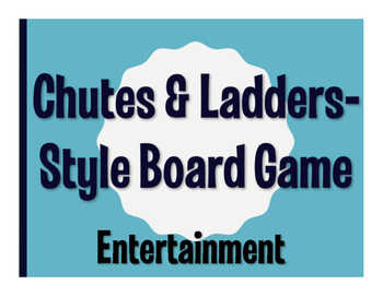 Avancemos 3 Unit 5 Lesson 2 Chutes and Ladders-Style Game