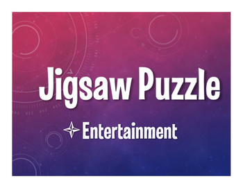 Avancemos 3 Unit 5 Lesson 2 Jigsaw Puzzle