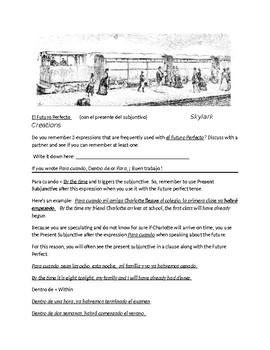 Avancemos 3 Unit 6 Lesson 2 Bundle with 7 exercises for Unit 6 Lesson 2
