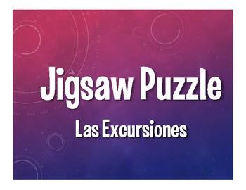 Avancemos 3 Unit 6 Lesson 2 Jigsaw Puzzle