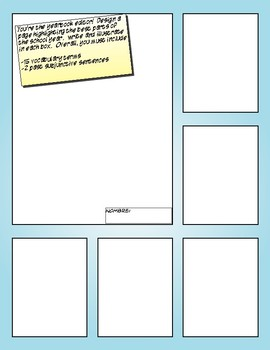 Avancemos 3 Unit 7 Lesson 1 Comic Strip