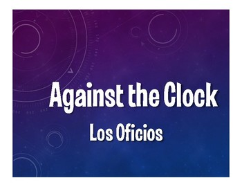 Avancemos 3 Unit 7 Lesson 2 Against the Clock