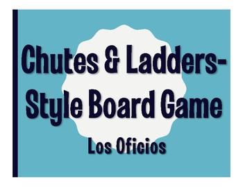 Avancemos 3 Unit 7 Lesson 2 Chutes and Ladders-Style Game