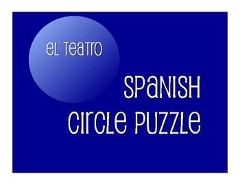 Avancemos 3 Unit 8 Lesson 2 Circle Puzzle