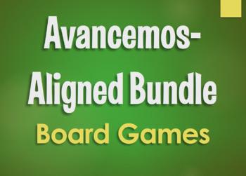 Avancemos 4 Bundle: Small Group Board Games