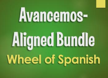 Avancemos 4 Bundle: Wheel of Spanish