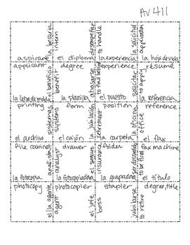 Avancemos 4 Unit 1 Lesson 1 Jigsaw Puzzle