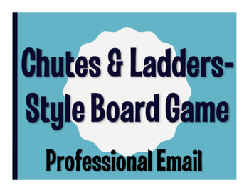 Avancemos 4 Unit 1 Lesson 2 Chutes and Ladders-Style Game