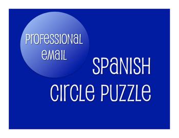 Avancemos 4 Unit 1 Lesson 2 Circle Puzzle