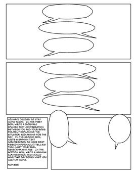 Avancemos 4 Unit 1 Lesson 2 Comic Strip