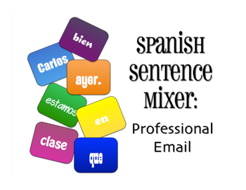 Avancemos 4 Unit 1 Lesson 2 Sentence Mixer