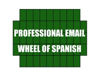 Avancemos 4 Unit 1 Lesson 2 Wheel of Spanish