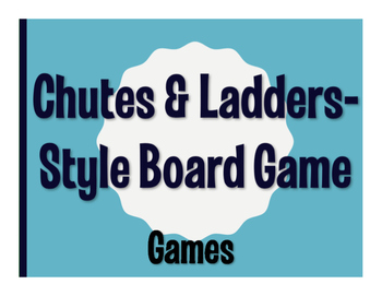 Avancemos 4 Unit 2 Lesson 2 Chutes and Ladders-Style Game