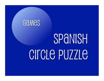 Avancemos 4 Unit 2 Lesson 2 Circle Puzzle