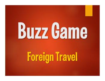 Avancemos 4 Unit 3 Lesson 1 Buzz Game