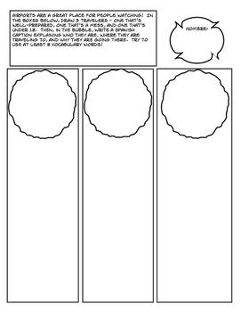 Avancemos 4 Unit 3 Lesson 1 Comic Strip