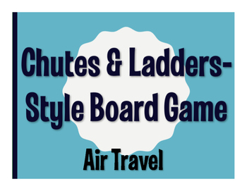 Avancemos 4 Unit 3 Lesson 2 Chutes and Ladders-Style Game