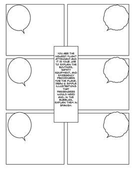 Avancemos 4 Unit 3 Lesson 2 Comic Strip