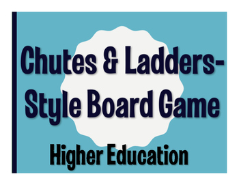 Avancemos 4 Unit 4 Lesson 2 Chutes and Ladders-Style Game