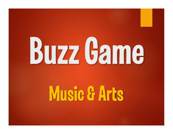 Avancemos 4 Unit 5 Lesson 1 Buzz Game
