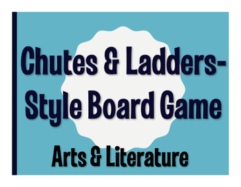 Avancemos 4 Unit 5 Lesson 2 Chutes and Ladders-Style Game