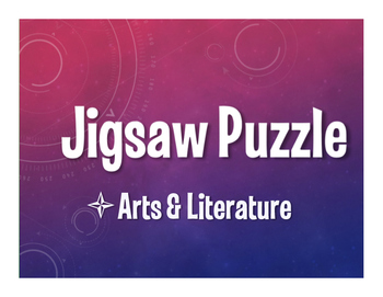 Avancemos 4 Unit 5 Lesson 2 Jigsaw Puzzle