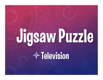 Avancemos 4 Unit 6 Lesson 1 Jigsaw Puzzle