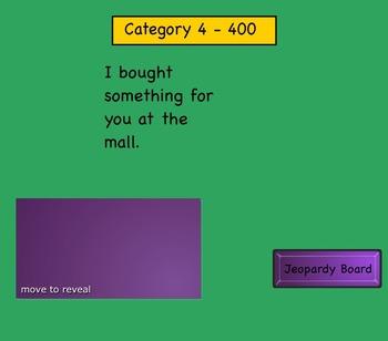 Avancemos 7.2 Jeopardy