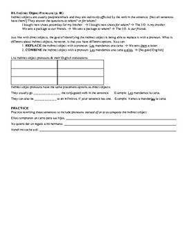 Avancemos Book 2 - All Unidad Review Sheets Bundle