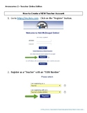 Avancemos Create Teacher Account QuickStart My.HRW.com